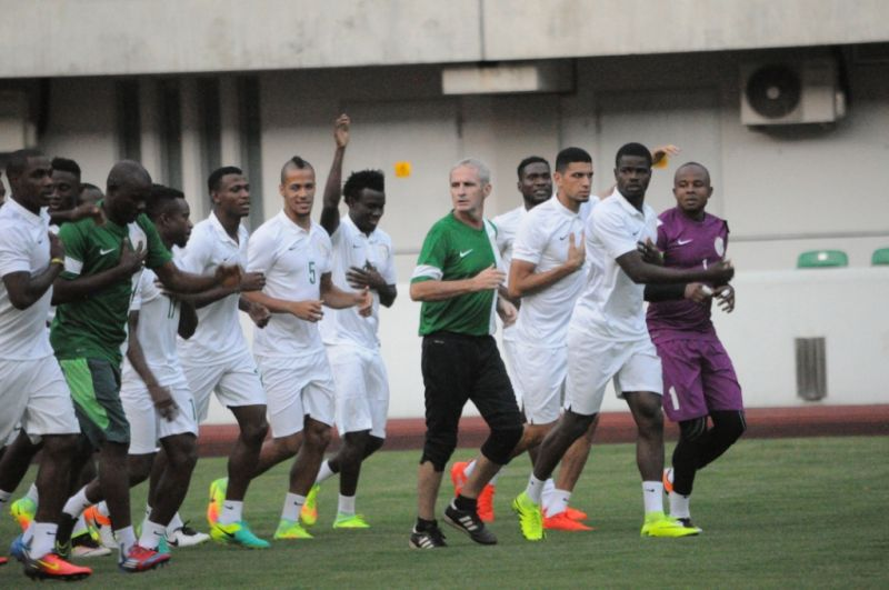 Image result for Int'l friendlies: More players arrive Super Eagles camp in London